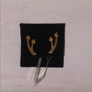 14k gold earings